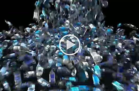 Bouteilles plastiques recyclage
